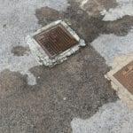 Acqua torbida dai tombini a via Pasteno Grande, la denuncia di CasaPound