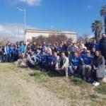 """Fare Verde Fondi bonifica la spiaggia di S.Anastasia dai """"nuovi barbari"""""""