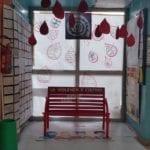 Una panchina per riflettere: l'installazione degli studenti del 'Manzoni' di Latina
