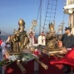 """I santi patroni di Gaeta ad attraversare il mare sulla """"Signora del Vento"""": si bissa"""