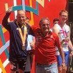 Special Olympics ad Abu Dhabi: Devis D'Arpino è medaglia di bronzo negli 800m