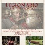 """""""Legionario per un giorno"""", imparare giocando con l'archeologia"""