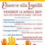 """""""Educare alla Legalità"""", venerdì il convegno alla Dan Danino Di Sarra"""