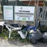 Continua lo scempio presso la ex piattaforma rifiuti di via Vallesica