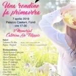 Fondi, Torna il memorial  per per Caterina de Filippis dell'ANDOS