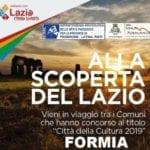 Arte e cultura a Formia: un weekend ricco di iniziative ed eventi