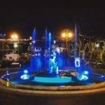 Comune e fontana di San Francesco illuminati di blu: Gaeta celebra la Giornata mondiale dell'Autismo