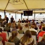 """""""Un mare da salvare"""", questa mattina l'incontro presso la Base Nautica """"F. Gioia"""""""