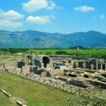 Pasquetta all'area archeologica Privernum