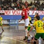 Pallamano, la Carburex Gaeta cade contro i campioni d'Italia della Junior Fasano