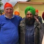 """Il coordinatore della Lega diventa Sikh per un giorno: """"Un esempio, no al razzismo"""""""