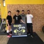 """Quattro atleti del """"CrossFit Formia"""" agli Internazionali di Roma"""