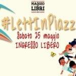 #LettInPiazza, la maratona di lettura per grandi e piccoli