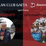 Il Milan Club Gaeta festeggia i 30 anni, arrivano Pellegatti e la Champions 2007