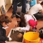 Simulazione di scavo a Norma, l'iniziativa per i più piccoli