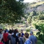 Passeggiata culturale a Sant'Agostino, ottimo riscontro per l'iniziativa del Comitato – FOTO