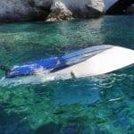 Barca si ribalta, a Ponza paura per sette turisti