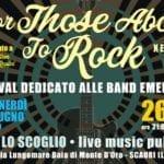 'For Those About To Rock': al via a Scauri la decima edizione del festival delle band emergenti