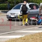 Incidente tra Formia e Gaeta, auto impatta contro due moto
