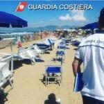 Spiagge occupate abusivamente, multe per 18mila euro tra Formia e Gaeta