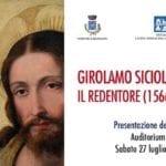 """""""Girolamo Siciolante – Il Redentore (1566 – 68)"""", la mostra a Bassiano"""