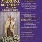 Festa della Madonna del Carmine, il programma degli eventi