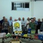 Derrate alimentari donate alla Caritas da Federcaccia, l'iniziativa a Cori