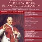 """""""Pio IX sul Santuario della Madonna della Civita"""", il convegno a Itri"""