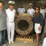 Consegnate al Comune di Gaeta le due antichissime anfore 'pescate' nel 2017