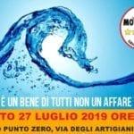 """Incontro 5 Stelle a Itri, Gaia Pernarella (M5S): """"L'acqua non è un affare"""""""