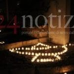La bellezza di un borgo a lume di candela, La magia di Lenola #FOTO