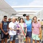 Inaugurati a Terracina gli internazionali di beach tennis