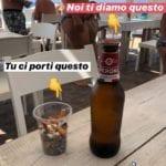 Una birra gratis per un bicchiere di cicche: l'iniziativa di uno stabilimento di Fondi