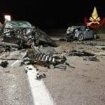 Sonnino, terribile scontro tra due auto: un morto e sei feriti