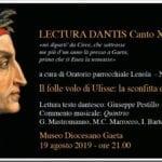 Nella Pinacoteca del Museo diocesano, la suggestiva Lectura Dantis