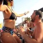 Il beach tour di Salvini parte in differita: annullata la tappa di Sabaudia
