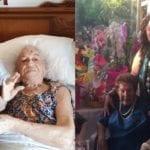 Eleodina ed Elisabetta, Gli auguri del Comune alle due super nonne