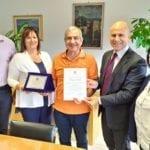 Un gesto d'amore da 1.400 Km: il riconoscimento a Giuseppe Iacovelli