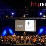 Cicerone e Morricone, l'incontro tra due miti #FOTO #VIDEO