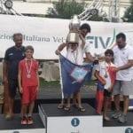 Niccolò Sparagna secondo ai campionati italiani giovanili di vela