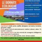 Tornano le Giornate ecologiche, il programma