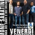 Simone Sabatino e la Banda dei Santi e dei Delinquenti in concerto a Norma