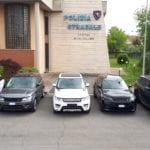 Ricettazione, recuperate venti auto di alta gamma rubate: due arresti