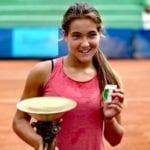 La baby tennista pontina continua a vincere: doppio titolo italiano