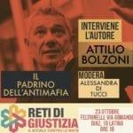 """Verra presentato a Latina il libro """"Il Padrino dell'Antimafia"""" di Attilio Bolzoni"""