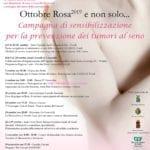 Ottobre Rosa, le importanti iniziative promosse dal comitato Andos