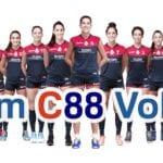 Pallavolo, si presenta domani al campus 'Ramadù' il roster della C88 Volley