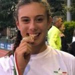 Claudia Tessitore della Poligolfo Formia è campionessa italiana