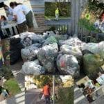 Grandi pulizie a Casalazzara: raccolti 10 quintali di rifiuti