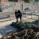 Formia, continua il recupero delle reti da pesca pericolose